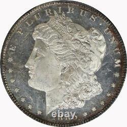1885-P PCGS Silver Morgan Dollar MS64DMPL Deep Mirror Proof-Like Coin