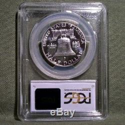 1950 Silver Proof Franklin Half Dollar PCGS PR62CAM Extremely Rare in Cameo