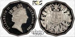 1988 50 Cent Bicentennial Mule Silver Proof Coin PCGS MS63 Only Two Registered