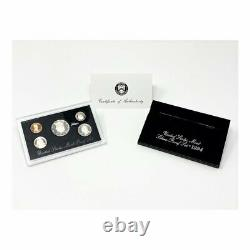 1992-1998-S U. S. Silver Proof Sets Black Box (7 Sets)
