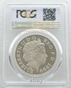 1999 Royal Mint Lady Diana £5 Five Pound Silver Proof Coin PCGS PR69 DCAM
