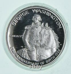 (20) PROOF 1982-S George Washington HALF DOLLAR Commemorative 90% Silver Roll
