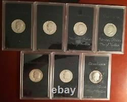 20 Roll SPECIAL PROOF Mint Mark 1971-S 40% Eisenhower Silver Dollar