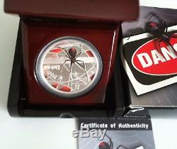 2006 $1 Deadly & Dangerous Red Back Spider 1oz Silver Proof Coin