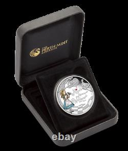 2015 150th Anniversary Of Alice's Adventures In Wonderland 1oz Silver Proof Coin