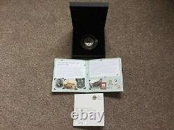 2016 Very Rare 150th Anniversary Of Beatrix Potter UK Silver Proof 50p Coin