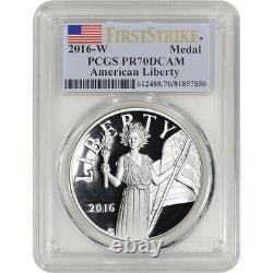 2016-W US American Liberty Silver Medal PCGS PR70 DCAM First Strike