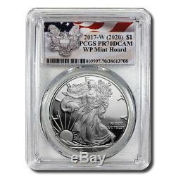 2017-W (2020) Proof Silver Eagle PCGS PR70 DCAM (West Point Mint Hoard)