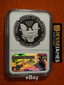 2017 W Proof Silver Eagle Ngc Pf70 Ultra Cameo Early Releases Mike Castle Signed