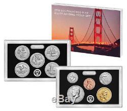 2018-S U. S. Mint Silver Reverse Proof Set in Mint Packaging SKU54627
