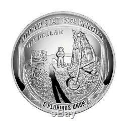 2019 P Apollo 11 Commemorative 5 oz Proof Silver $1 PCGS PR70 DCAM First Strike