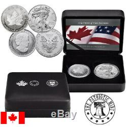 2019 RCM Pride of Two Nations 2 Coin Set Limited Edition (Canada Release)