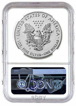 2019 S $1 Enhanced Reverse Proof American Silver Eagle NGC PF69 First Day Issue