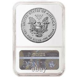 2019-S Enhanced Reverse Proof $1 American Silver Eagle NGC PF69 Blue FR Label