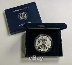 2019-S Enhanced Reverse Proof Silver Eagle 19XE Coin Only