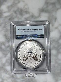 2019 S Enhanced Reverse Proof Silver Eagle Dollar $1 PCGS PR69 First Strike