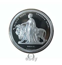 2019 Una And The Lion Silver Proof Five Pounds Royal Mint Issue