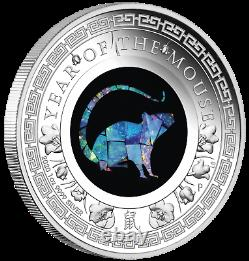 2020 Australia OPAL LUNAR Year of the MOUSE 1 oz Silver Proof Coin NGC PF70 FR