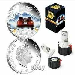2020 Back to the Future 1oz Silver Proof 35th Anniversary Mr Fusion 2,020 Minted