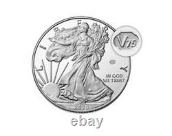 2020 End of World War II 75th Anniversary American Eagle Silver Proof Coin 20XF