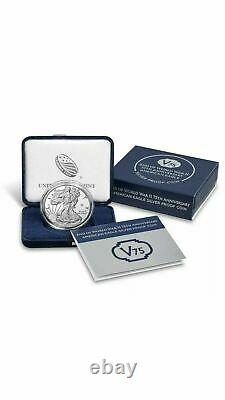 2020 End of World War II 75th Anniversary Eagle Silver Proof Coin V75 SEALED BOX