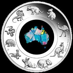 2020 GREAT SOUTHERN LAND 1oz SILVER PROOF OPAL COIN