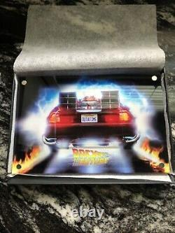 2020 Niue Back to the Future License Plate 2 oz Silver Colored Coin (Cert. #042)