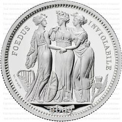 2020 Royal Mint Three Graces Silver Proof One Kilo 1kg Only 125 Minted
