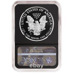 2020-S Proof $1 American Silver Eagle NGC PF70UC FDI First Label Retro Core