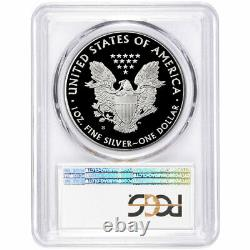 2020-S Proof $1 American Silver Eagle PCGS PR70DCAM FDOI Blue Label