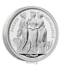 2020 UK Royal Mint The Three Graces Two-Ounce Silver Proof £5 Coin