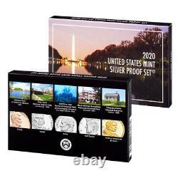 2020 US Mint Silver Proof Set (20RH)