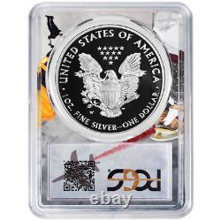 2020-W Proof $1 American Silver Eagle PCGS PR70DCAM FDOI West Point Frame