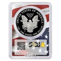 2020-W Proof $1 American Silver Eagle PCGS PR70DCAM Trump 45th President Label F
