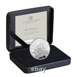 2021 Great Britain £2 Britannia Proof 1 oz Silver Coin 2,900 Made