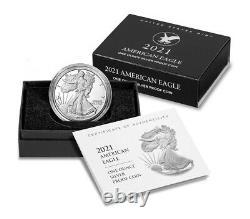 2021 S Proof American Silver Eagle Type 2 GEM Proof OGP PRESALE