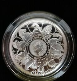 2021 The Queen's Beasts 1oz Silver Proof Coin Queens Beast Completer 1 oz