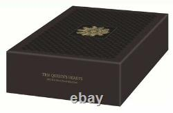 2021 The Queen's Beasts Completer UK 1kg Silver Proof Coin. In Hand