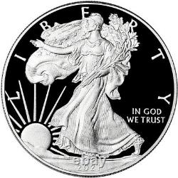 2021 W American Silver Eagle Proof PCGS PR70 DCAM First Strike Red Flag Label