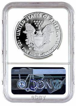 2021 W Silver Proof American Eagle NGC PF69 UC FR Exclusive Eagle Label