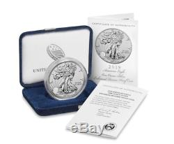 American Eagle 2019 One Ounce Silver Enhanced Reverse Proof Coin