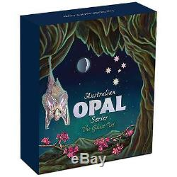 Australian Opal Series Ghost Bat 2015 1oz Silver Proof $1 Coin Australia