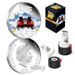 BACK TO THE FUTURE 35th Anniversary 2020 1oz Silver Proof Coin