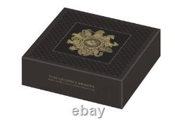 In Stock The Queen's Beasts 2021 UK Two-Ounce Silver Proof Coin (with Box & COA)