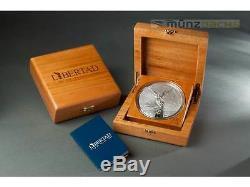 Libertad Siegesgöttin Mexico Mexiko 1 kg Kilo Silber Silver Prooflike PP 2016