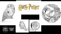Lot 2 x 10 Euros Argent BE Proof France 2021 Harry Potter