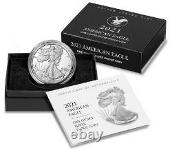 Lot of 3 SEALED US Mint American Eagle 2021 Silver Proof West Point (W) 21EAN
