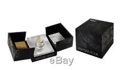 Niue 2013, Fortuna Redux Mercury 3D, $50, 6 Oz SILVER proof cylinder shaped coin