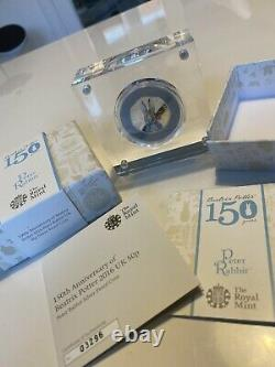 Peter Rabbit 2016 Silver Proof 50p Coin Low Number