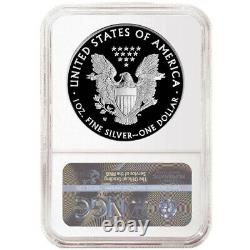 Presale 2021-W Proof $1 American Silver Eagle NGC PF69UC Brown Label